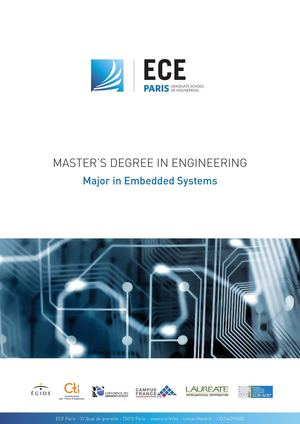 Master's Degree in Embedded Systems - ECE Paris