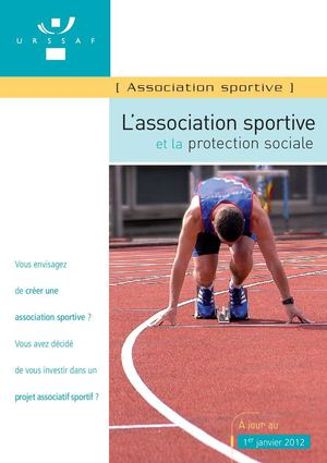 Guide URSSAF : l'association sportive et la protection sociale
