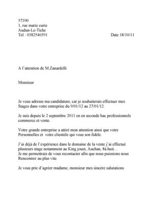 Calaméo Audun Lettre Motivation