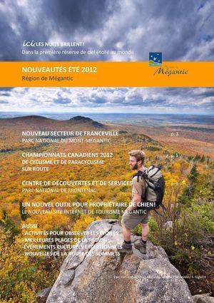 Calaméo - Nouveautés pour l été 2012 - Région de Mégantic 133ebe34aba