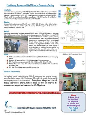 Establishing Systems on HIV- Poster