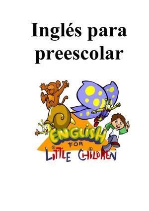 Calaméo - Inglés para preescolar