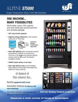 Calam 233 O Alpine St5000 Refrigerated Merchandiser Brochure