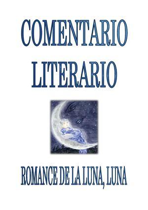 Calaméo Comentario Literario Romance De La Luna Luna