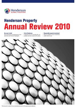 Henderson Property Annual Review 2010