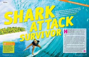 Shark Attack Survivor
