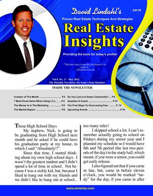 May 2012 - Dave Lindahl's Real Estate Insights