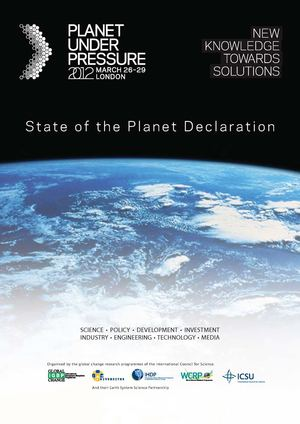 State of the Planet Declaration