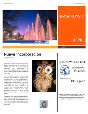 Mendoza News abril