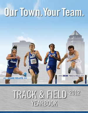 2012 Drake Track And Field Media Guide