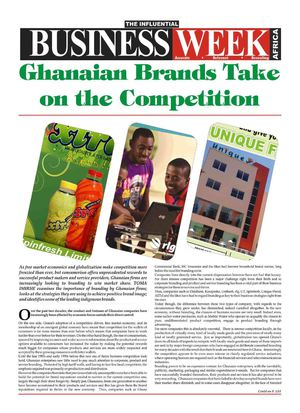 Ghanaian brands Take on Competition