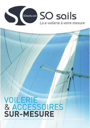 Catalogue e-voilerie SO sails