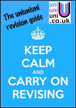 The uniuniuni revision guide 2012/2013