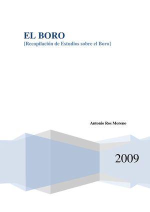 Calaméo Recopilación De Estudios Sobre El Boro