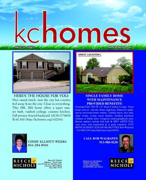 Kansas City Homes for Sale : May 31st , 2012