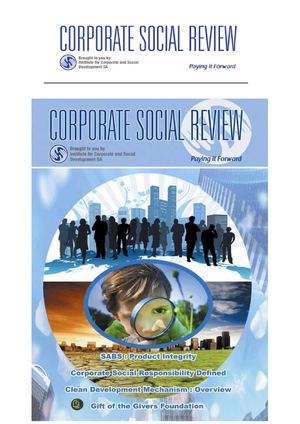 Corporate Social Review  Magazine Profile