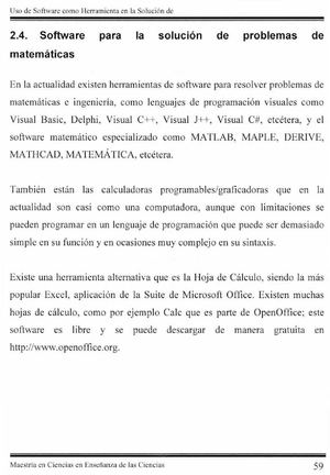 Calaméo - Software para la solución de problemas de matemáticas