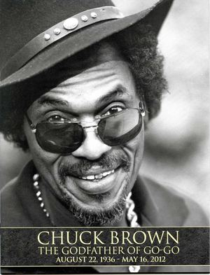 Chuck Brown Funeral Program