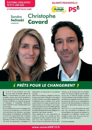 Le journal de campagne de Christophe Cavard