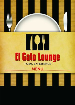 Evening Menu El Gato Lounge: Tapas Experience