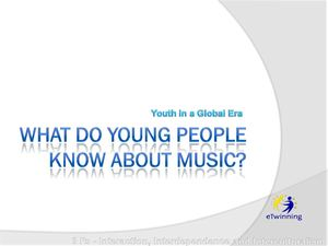 General Knowledge about music
