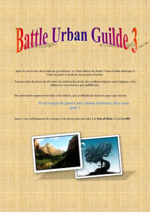 Battle Urban Guilde 3