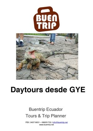Daytours desde Guayaquil