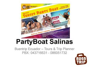 PartyBoat Salinas 2012