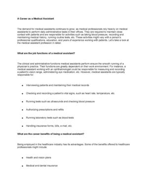 6- A Career as a Medical Assistant v.2.docx