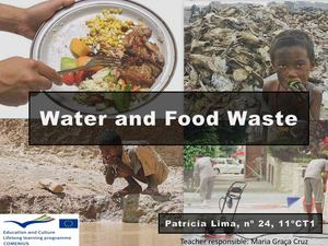 Water and Food waste - Patrícia Lima 11CT1.pdf