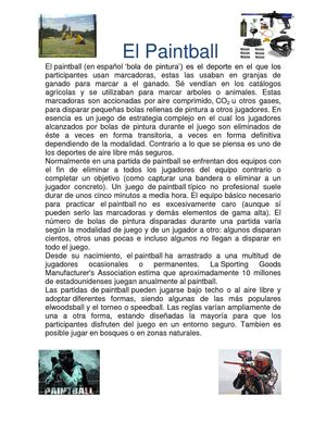 El Paintball