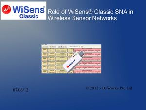 Role of WiSens® Classic SNA in Wireless Sensor Networks