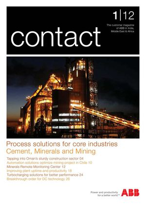 ABB CONTACT S GULF & PAKISTAN Issue 1/12