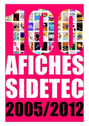 100 Afiches SIDETEC 2005/2012