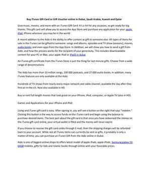 Calameo Buy Itunes Gift Card Or Gift Voucher Online In Dubai