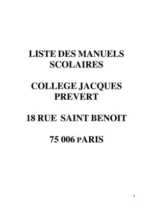 Calameo Liste Des Manuels Scolaires 2012 2013