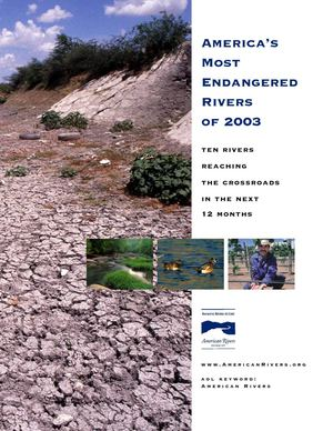 America's Most Endangered Rivers of 2003
