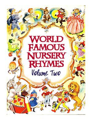 World Famous Nursery Rhymes: Volume 2 ( First Part)