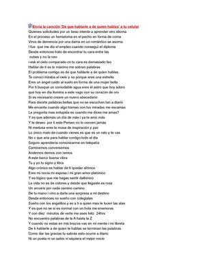 Tercer cielo lyrics