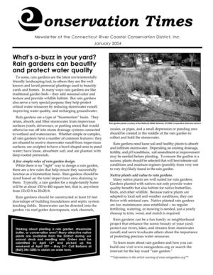 2004 Connecticut Conservation Times Newsletter