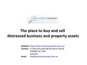 Distressed assets for sale