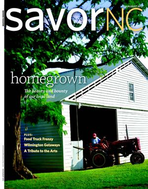 SavorNC Magazine - July/August 2012