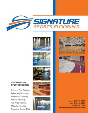 Signature Sports Flooring Brochure