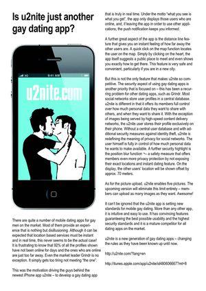 Motion dating app