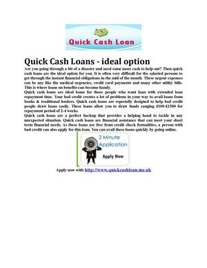 Payday Loans Today- Immediate Cash -Quick Cash Loans