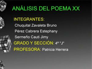 Calaméo Analisis Poema 20