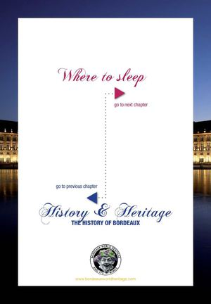 Bordeaux World Heritage & Its Wines : Where to sleep