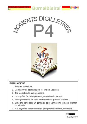 Moments digilletres de P4