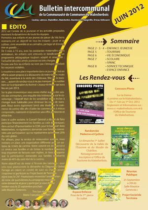 Bulletin Intercommunal - Juin 2012