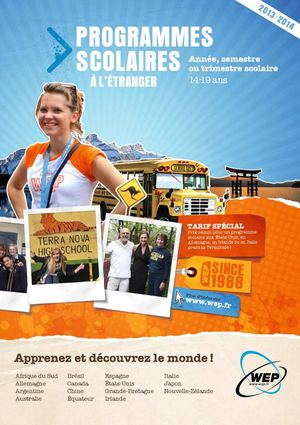 WEP_FRFR_Programmes Scolaires_2013-14